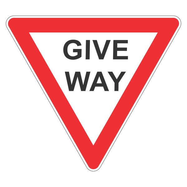 Traffic Sign - Give Way