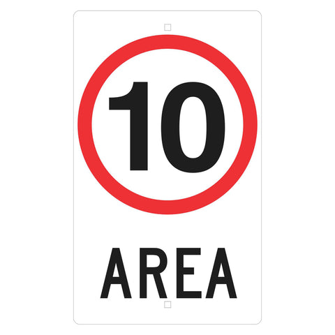 Traffic Sign - 10 KM Area