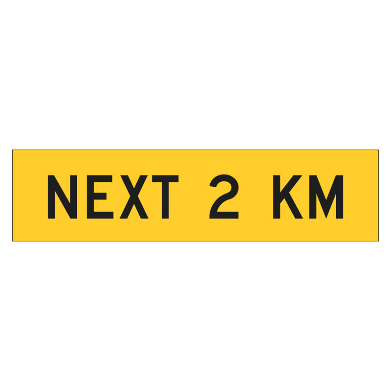 Multi Message Frame Sign - Next 2 KM