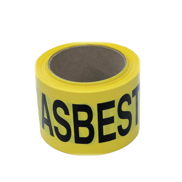 Barrier Tape - Asbestos Warning