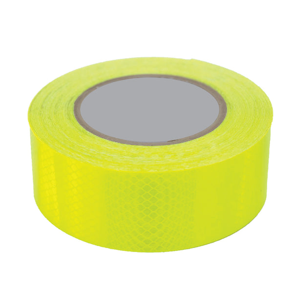 Reflective Tape - Fluorescent Lime Green