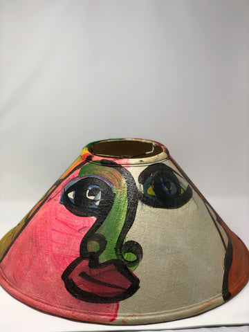 """Faces"" Lamp shade"