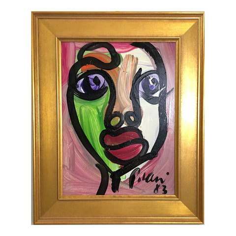 """Colorful Face 1"" -Peter Keil"