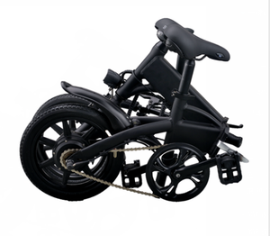 Folding Bicycle Long Range Electric eBike Fold Up Travel Bike