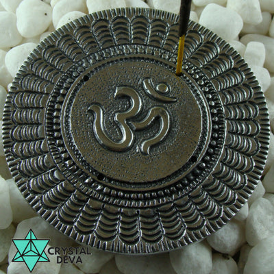 Om Aluminium Incense Holder