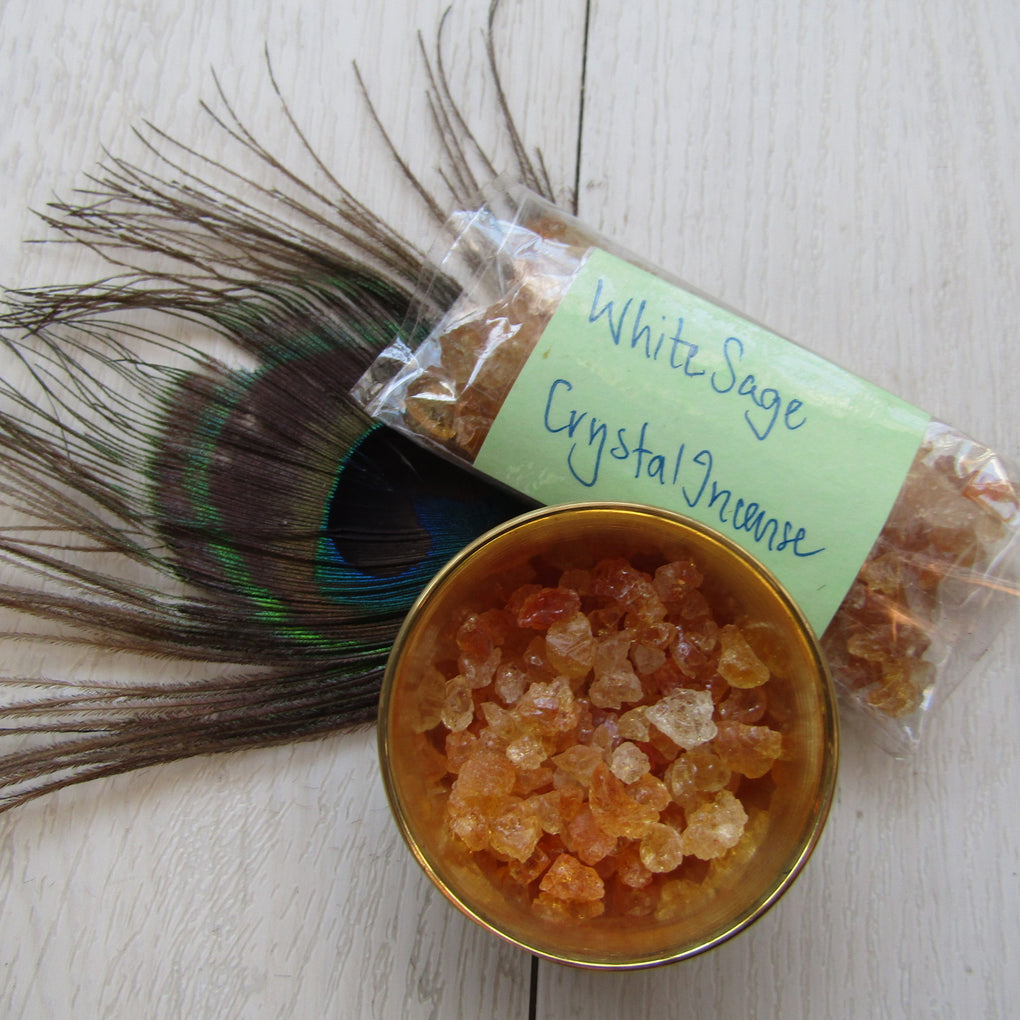 White Sage incense crystals