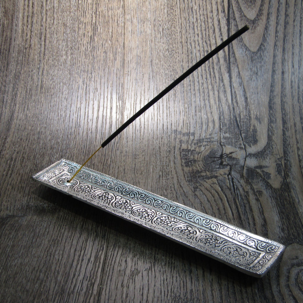 Flat Aluminium Incense Holder