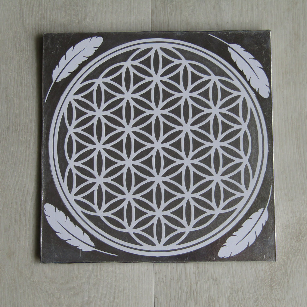 Flower of Life Grid Template (23 x 23 cm)