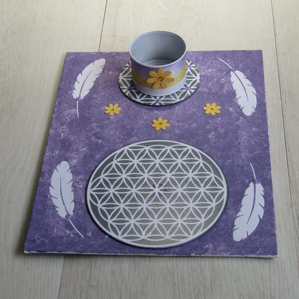 Flower of Life Grid Template (20 x 25 cm)