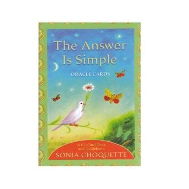 The Answer Is Simple Oracle Cards ~ Sonia Choquette