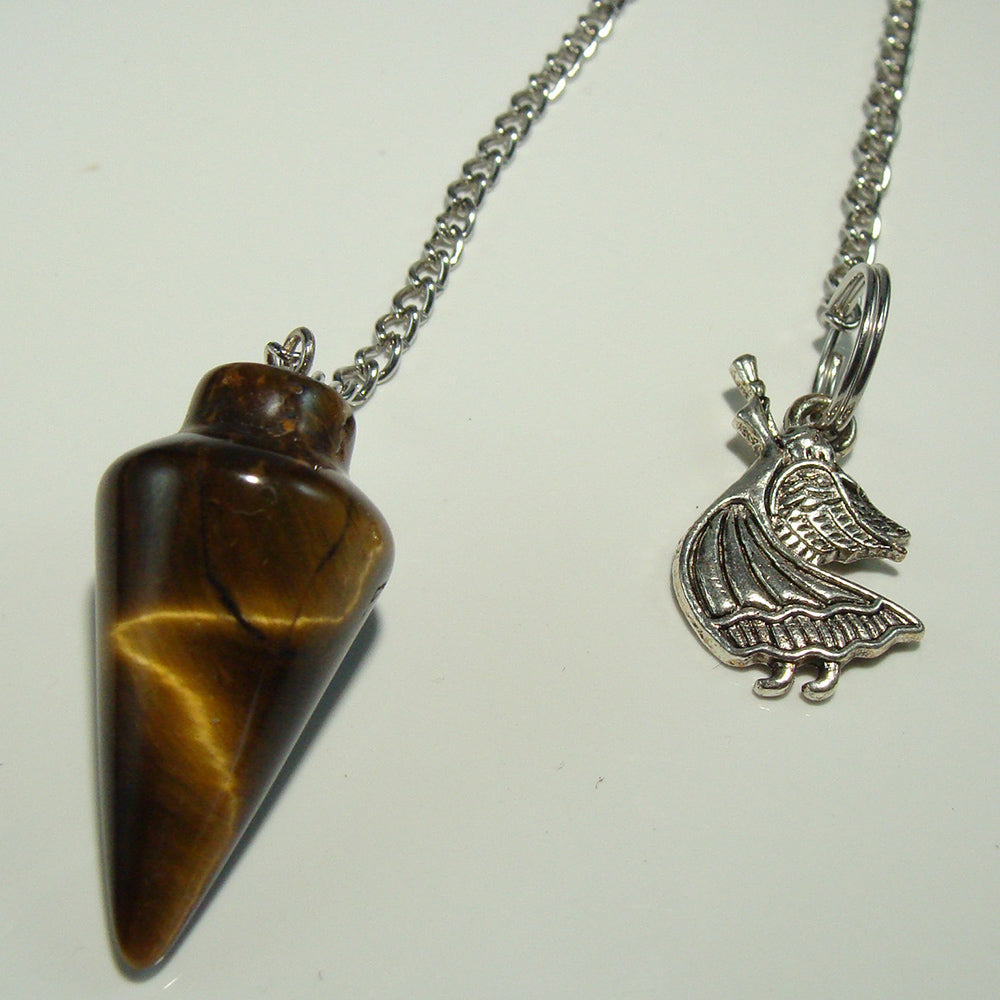 Tiger's Eye Pendulum