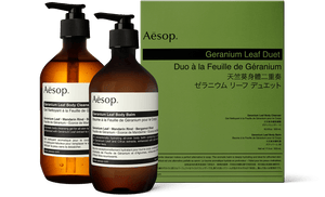 Aesop Geranium Leaf Body Care Kit (Duet)