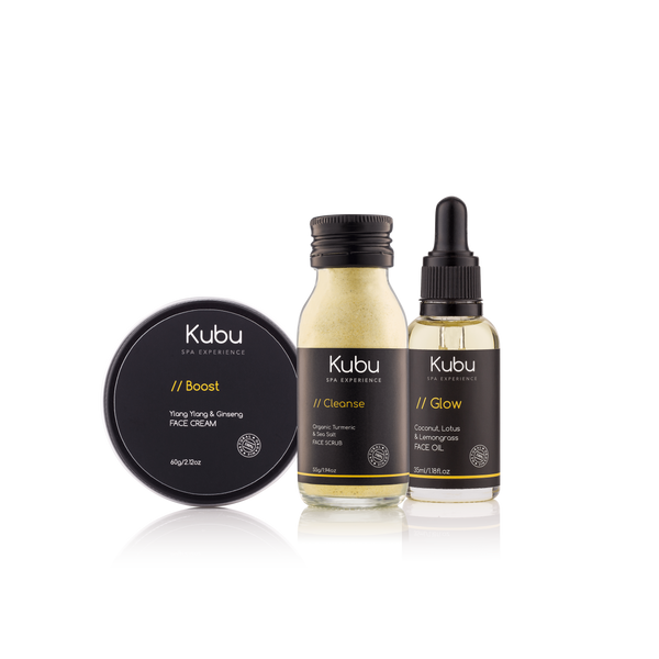 Cleanse, Boost & Glow Skincare Kit