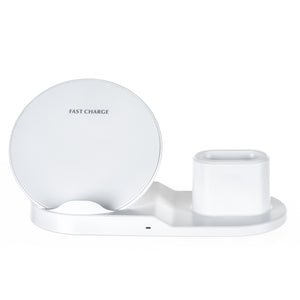 3-in-1 Qi Fast Wireless Charging Station