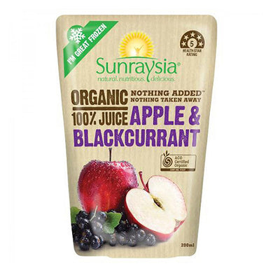 Organic Apple & Blackcurrant 100% Juice