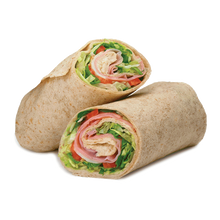 Load image into Gallery viewer, Ham, Cheese and Tomato Wrap (GF Available)
