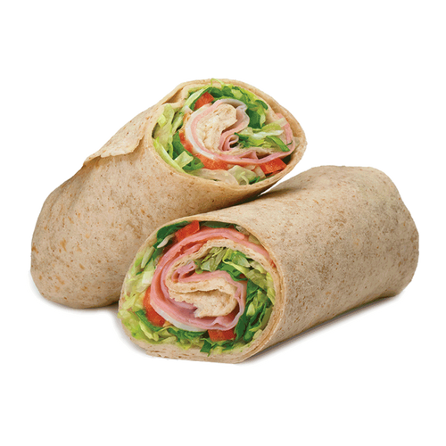 Ham, Cheese and Tomato Wrap (GF Available)
