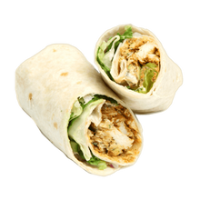 Load image into Gallery viewer, Chicken, Lettuce and Mayo Wrap (GF Available)