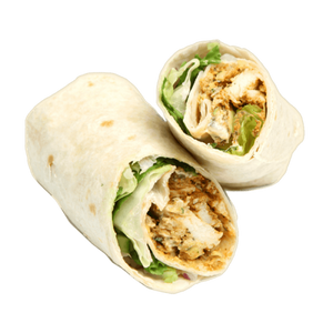 Chicken, Lettuce and Mayo Wrap (GF Available)