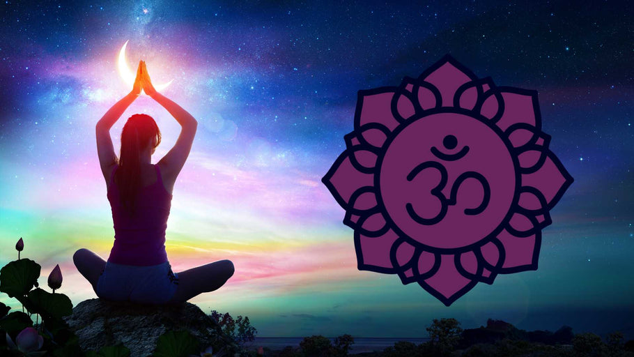 Essential Oils & Yoga Poses For The Chakras: Sahasrara (Crown Chakra)