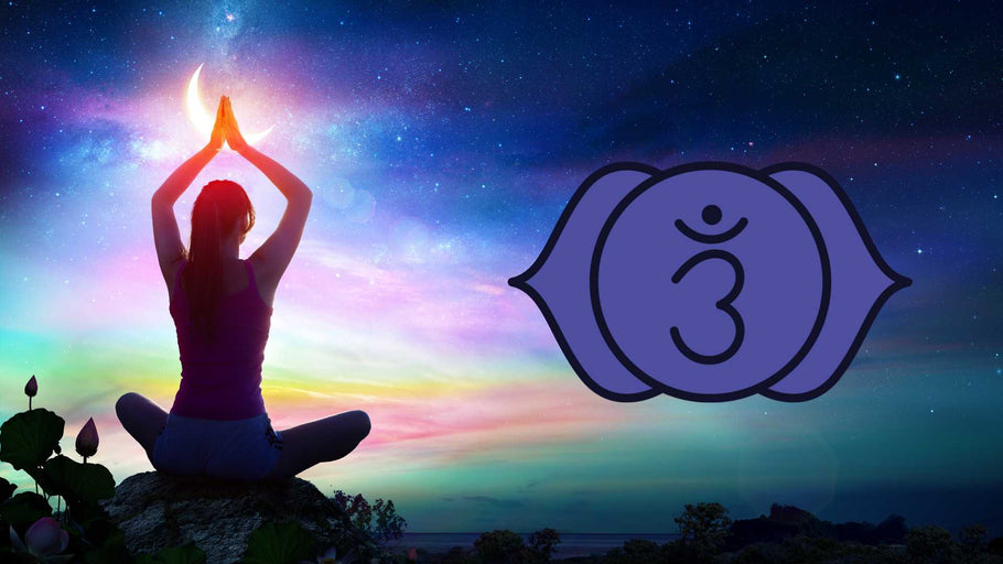 Essential Oils & Yoga Poses For The Chakras: Ajna (Third Eye Chakra)