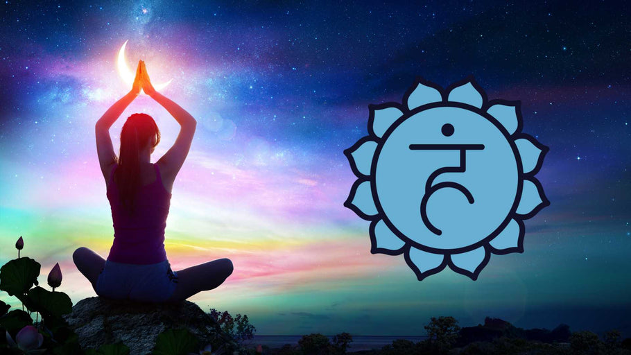 Essential Oils & Yoga Poses For The Chakras: Vishuddha (Throat Chakra)