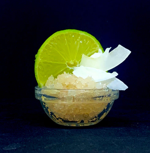Coconut and Lime Himalayan Salt Scrub