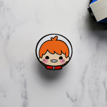 Load image into Gallery viewer, Apollo Cute Smile Astronaut Enamel Pin