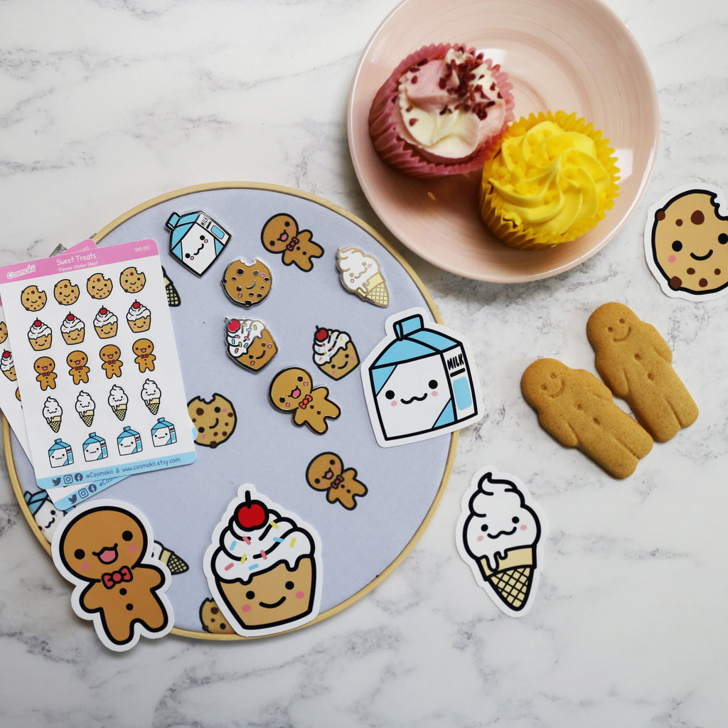 Cookie Enamel Pin