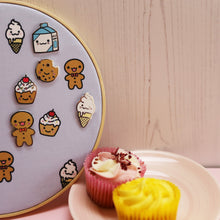 Load image into Gallery viewer, Cupcake Enamel Pin