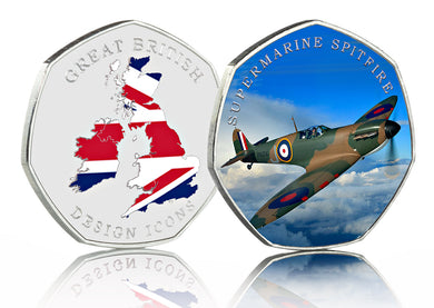 Great British Design Icons - Supermarine Spitfire