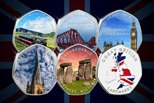 Load image into Gallery viewer, Full Set of Great British Landmarks (Full Colour)