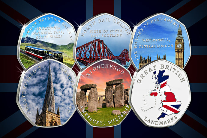 Full Set of Great British Landmarks (Full Colour)