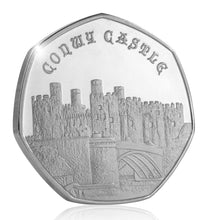 Load image into Gallery viewer, Full Set of the 2019 United Kingdom Castle Series (Fine Silver)