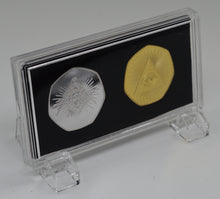 Load image into Gallery viewer, Pair of Masonic Commemoratives in Presentation/Display Case