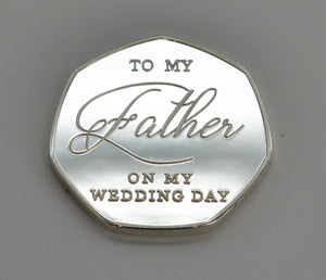 Father of the Bride, Wedding Day - Silver