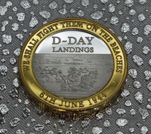D-DAY Landings - Silver & 24ct Gold