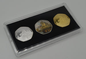 Trio of Horatio Nelson & the Battle of Trafalgar in Presentation/Display Case
