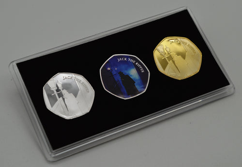 Jack the Ripper Trio in Presentation Case