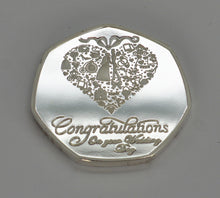 Load image into Gallery viewer, Congratulation on Your Wedding Day - Silver