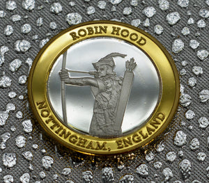 Robin Hood - Silver & 24ct Gold