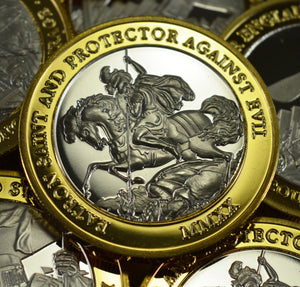 St George & The Dragon Dual Metal