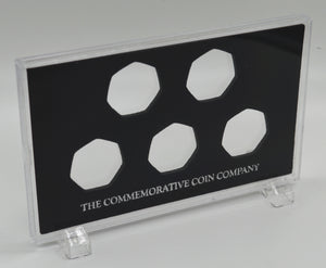 Full Set of 20th Century News/Events .999 Silver Commemoratives in Presentation/Display Case