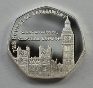 Full Set of Great British Landmarks (Fine Silver)