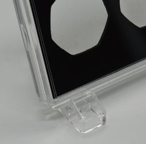 Free Standing Acrylic Glass 50p x 3 Display/Presentation Case