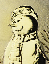 Load image into Gallery viewer, Merry Christmas, Snowman - 24ct Gold