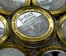 Load image into Gallery viewer, D-DAY Landings - Silver & 24ct Gold