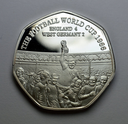 Football World Cup 1966 - Silver