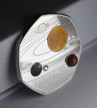 Load image into Gallery viewer, Our Solar System - Silver with Diamante, Colour & Shimmer/Sparkle Elements