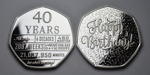 40th Birthday 'But Who's Counting' - Silver